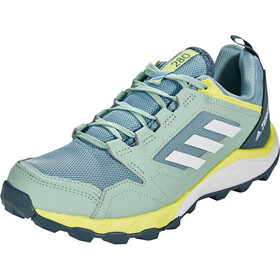 adidas TERREX Agravic TR Scarpe da trail running Donna, ash grey/footwear white/yellow tint